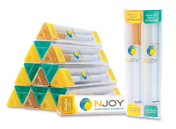 Electronic cigarette products from NJOY, which is owned by Sottera Inc.