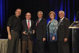 Executives from PetSmart are honored at the 2012 Live United event held at the Arizona Biltmore Resort and Spa in Phoenix Friday.