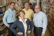 PetSmart's team of diversity champions includes, from left, Andy Izquierdo, director of public affairs; Cathie Spain, director of associate relations; Mick Moore, director of contracted services; and Bob Moran, chairman and CEO.