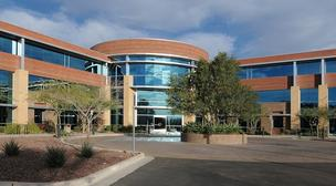 The Raintree Corporate Center, where Meritage Homes will relocate its Scottsdale headquarters next year.
