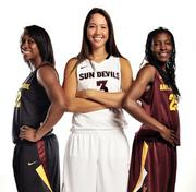 ASU new women's basketball uniforms.