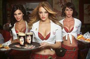 A Quincy pastor raised concerns over the skimpy waitress uniforms at Tilted Kilt, a sports bar that plans to open in a former Outback Steakhouse, a stone's throw from his church steps.