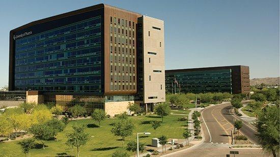 University of Phoenix headquarters in Phoenix.