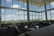 The study area in the library offers majestic views to the north.