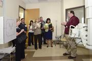 Cigna Medical Group tour guides provided tours for community members of the new health center at 3003 N. 3rd St., featuring high-tech equipment and services.