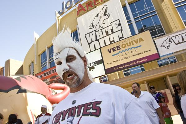 Phoenix Coyotes fans may have little to cheer about if a proposed referendum makes the Glendale ballot.