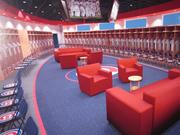 A rendering of the new Cubs clubhouse.