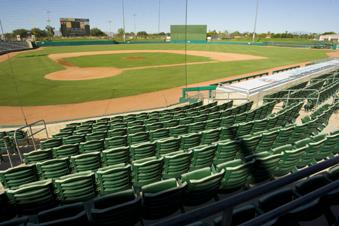 Hohokam Field will have 16 Chicago Cubs spring training games next year, likely its last as the Cactus League home of the team. It is in the process of building a new stadium.