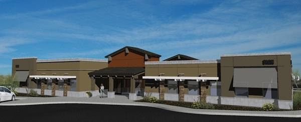 A rendering of the new Banner medical center planned for Goodyear.