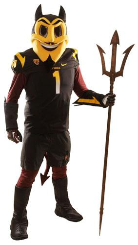 The new Sparky the Sun Devil debuted by Arizona State University March 1. It was created with the help of the Walt Disney Company, but the school said today the design would be scrapped and its design would go to a public vote.