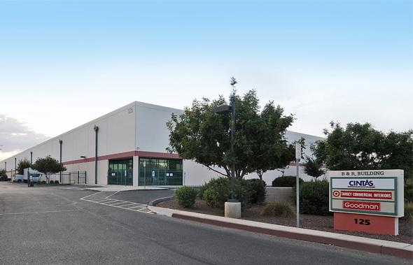 This warehouse, located at Van Buren Street and 67th Avenue, was sold for $7.16 million.