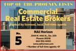 The Top 5 commercial real estate brokers in Phoenix