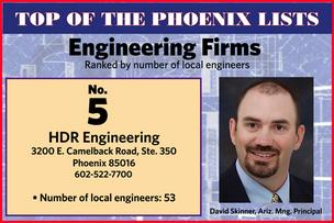 The Top 5 engineering firms in Phoenix