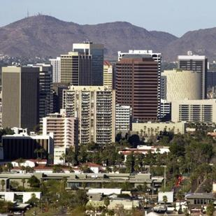 Roughly 36 percent of workers in the Phoenix area have white-collar jobs.