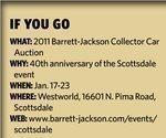 Barrett-Jackson revs up for 40th anniversary of Scottsdale auction