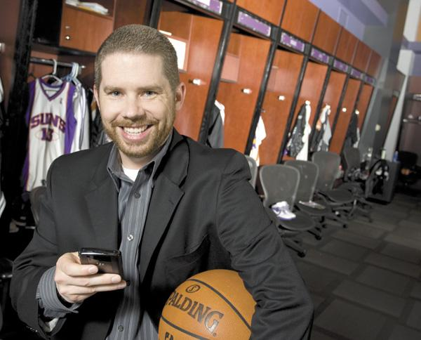 Jeramie McPeek, vice president of digital operations for the Phoenix Suns.