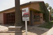 First-time developer Ashley Harder is converting this historic commercial site on McDowell Road in Phoenix into retail space.