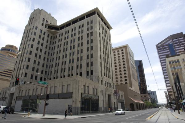 The Hotel Monroe in downtown Phoenix.