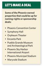 Phoenix looks to sell naming rights