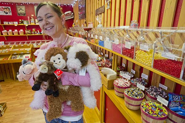 Small-business owners are gearing up for the holiday shopping season. Retailers such as Jeanine Rometty, owner and operator of the Old Town Candy and Toys store in Scottsdale, say they are optimistic this year will be better than last.