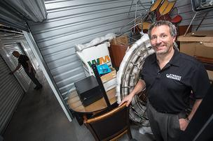 James Grant founded StorageBattles.com, a Phoenix startup that allows self-storage facilities to auction off the contents of overdue units on the Internet.