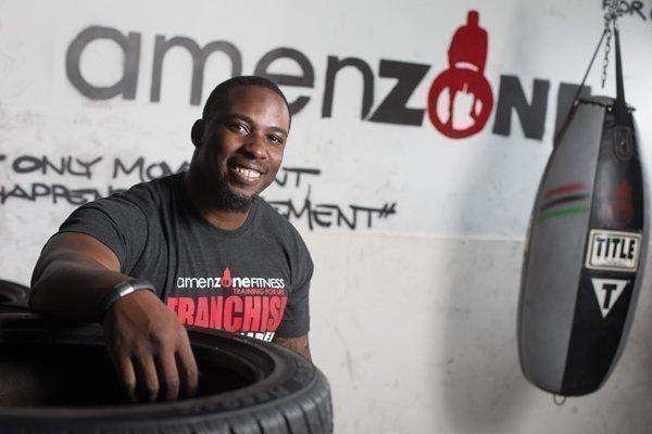Amen Iseghohi, founder of Amenzone Primal Fitness.