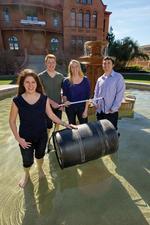 ASU students develop water filtration system to license to African businesses