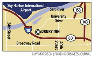 Drury acquires Radisson near Sky Harbor airport, changes name