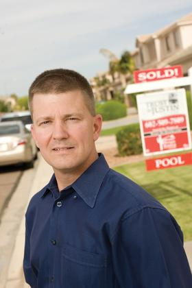 Justin Lombard, owner of Stone House Realty of Arizona, says cash sales are starting to dominate the local housing market, preventing many buyers from finding homes.