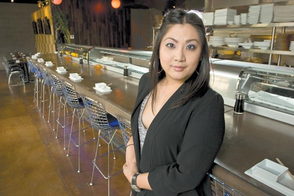 """Moira Sushi Bar & Kitchen owner Linda Nguyen says the downtown Phoenix eatery aims to be a """"neighborhood restaurant."""""""