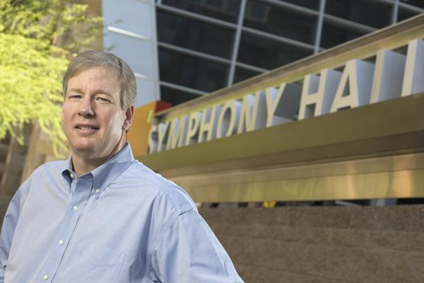 Jim Ward, interim president and CEO of the Phoenix Symphony, is working hard to shore up the organization's financial deficits.