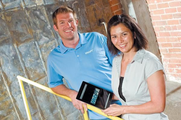 Brad and Heidi Jannenga founded WebPT in 2008. The company this week acquired Health Data Solutions.