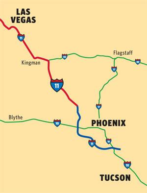 Phoenix-Vegas I-11 connection sought to boost business