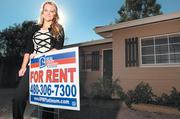 Regina King, general manager of Real Property Management Platinum, shows one of her rental properties in Scottsdale.