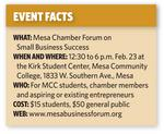 Mesa Chamber, Mesa Community College launch business forum