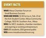 Mesa Chamber, Mesa Community College launch business forum