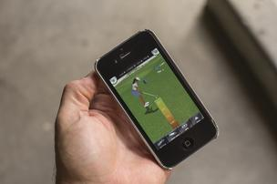 The Skinz Golf game app can be downloaded free. The company expects to generate revenue through sponsorships.