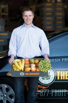 Chris Mittelstaedt, founder and CEO of the FruitGuys in San Francisco, is opening a distribution center in Phoenix to provide fresh fruit deliveries to local offices.
