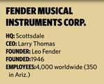 Fender moving world headquarters to North Scottsdale office