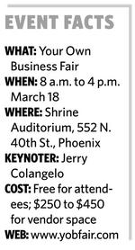 Jerry Colangelo to keynote Your Own Business Fair