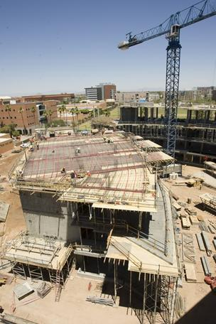 McCord Hall is scheduled to open in June 2013 at the W.P. Carey School of Business on ASU's Tempe campus.