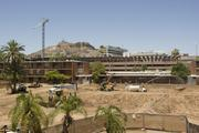 Construction activity is continuing on the North Campus phased improvements at ASU's Tempe campus.