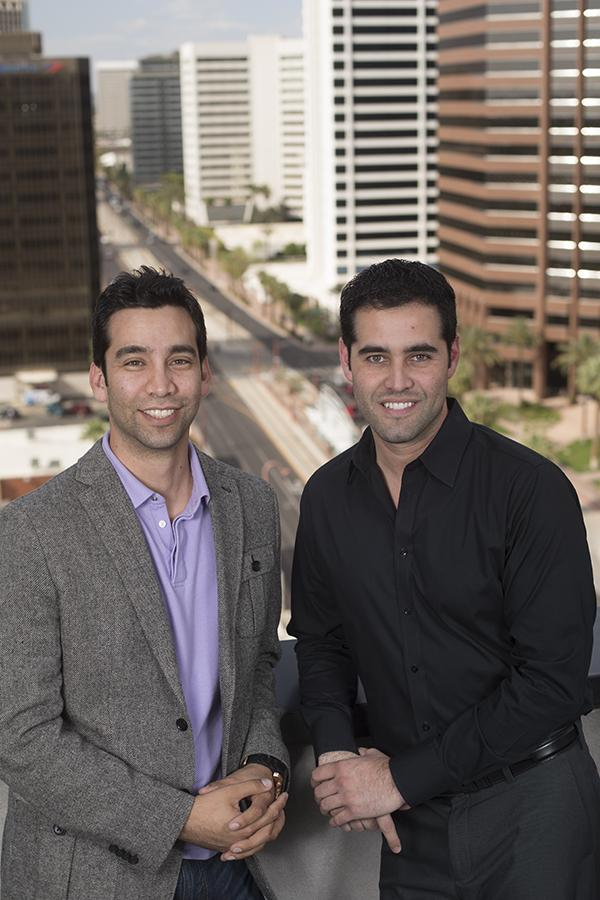 Francisco Cervera, left, and Luis Cervera began eMoneyPool as a way to provide savings and loans to individuals. They are expanding that to include small businesses.
