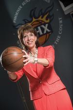Executive profile: Ties to high school hoops bring <strong>Milne</strong> to Phoenix Suns charities