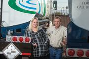 Truck Works President Colin Dickinson and his daughter, Heather, are seeing greater demand for their company's products as a result of their new galvanizing process.