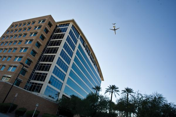 US Airways (NYSE:LCC) currently has its headquarters in Tempe, Ariz. Once its pending merger with American Airlines is complete, the combined company will be based in Fort Worth, Texas.