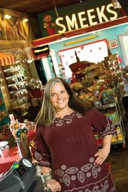 Georganne Bryant, owner of candy store Smeeks, considered seeking financing to open a second location, but she didn't want to over-extend herself.