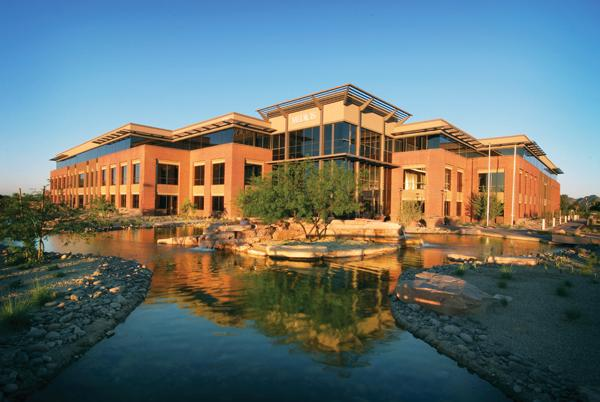 The former Medicis headquarters in Scottsdale is now part of Valeant.