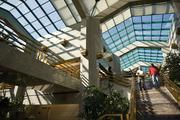 National Bank of Arizona's Phoenix headquarters features this atrium with windows covered by a special film that allows light to enter, but reflects heat.