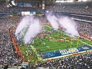 The city of Glendale lost about $2 million when it hosted the 2008 Super Bowl at the University of Phoenix Stadium, officials said.